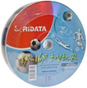 RIDATA 4.7Gb 8x Bulk 10psc (football)/budget, Код товара [9242]