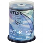 TDK 4.7Gb 16x Cake 100psc Printable, Код товара [9523]