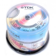 TDK 4.7Gb 16x Cake 50psc Printable, Код товара [9524]